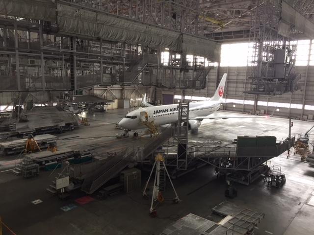 <社会を知る>大人の社会科見学⑭-JAL整備工場見学-SKY MUSEUM-